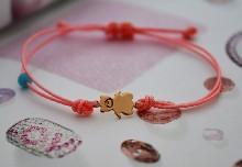 "0101 Гривна ""Mini Baby bear"" Rose Gold"