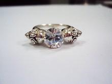 """144  Сребърен пръстен  """"Lolita Skull"""""""